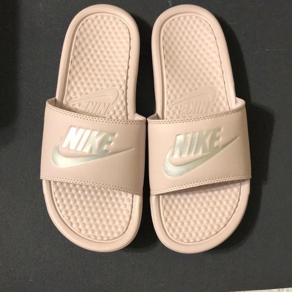 bab3c7bfb5b2 Light Pink Nike Slip Ons